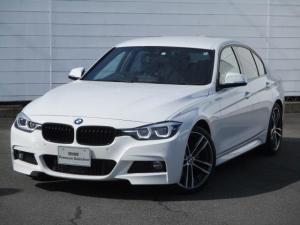BMW 3シリーズ 320i Mスポーツ エディションシャドー 禁煙車 純正ナビ バックカメラ PDC ブラックレザーシート シートヒーター アクティブクルーズコントロール マルチディスプレイメーター インテリジェントセーフティ 純正19インチAW