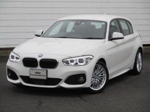 BMW 1シリーズ 118i Mスポーツ ワンオーナー 禁煙車 純正ナビ ETC バックカメラ シートヒーター アクティブクルーズコントロール コンフォートアクセス LEDヘッドライト 純正17インチAW