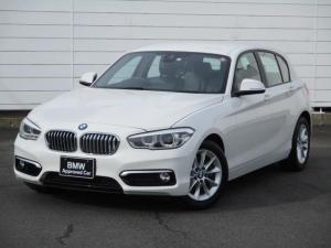 BMW 1シリーズ 118i スタイル ワンオーナー 禁煙車 バックカメラ リアPDC Musicコレクション クルーズコントロール Bluetooth ハーフレザーシート LEDヘッドライト 純正16インチAW
