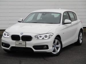 BMW 1シリーズ 118i スポーツ ワンオーナー 禁煙車 純正HDDナビ バックカメラ シートヒーター アクティブクルーズコントロール コンフォートアクセス ETC純正16インチAW