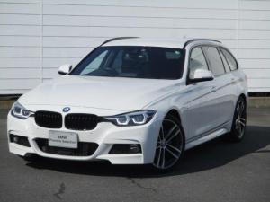 BMW 3シリーズ 320dツーリング Mスポーツ エディションシャドー 純正ナビ ETC バックカメラ ブラックレザーシート シートヒーター パドルシフト アクティブクルーズコントロール ワンオーナー 禁煙車 純正19インチAW