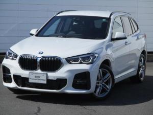 BMW X1 xDrive 18d Mスポーツ ワンオーナー 禁煙車 純正ナビ バックカメラ PDC クルーズコントロール パワーシート コンフォートアクセス オートリアゲート LEDヘッドライト 純正18インチAW 後期