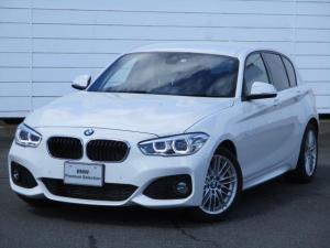 BMW 1シリーズ 118d Mスポーツ クルーズコントロール シートヒーター ETC 禁煙車 バックカメラ インテリジェントセーフティ Bluetooth LEDヘッドライト コンフォートアクセス 純正17インチアロイホイール