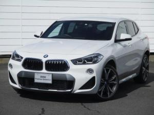 BMW X2 xDrive 20i MスポーツX 純正ナビ ETC アクティブクルーズコントロール 禁煙 パドルシフト Bluetooth ヘッドアップディスプレイ ブラックレザーシートヒーター オートリアゲート 純正20インチAW パワーシート