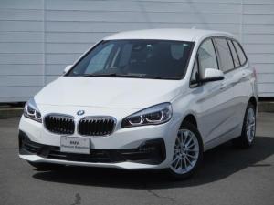 BMW 2シリーズ 218dグランツアラー ワンオーナー 禁煙車 純正ナビ バックカメラ PDC CD ETC Bluetooth インテリジェントセーフティ LEDヘッドライト 純正17インチアロイホイール