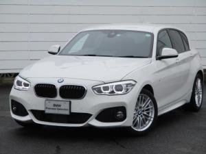 BMW 1シリーズ 118d Mスポーツ ワンオーナー 禁煙車 純正ナビ バックカメラ PDC アクティブクルーズコントロール インテリジェントセーフティ ETC Bluetooth 純正17インチアロイホイール