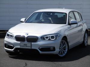 BMW 1シリーズ 118d ファッショニスタ 限定車 純正ナビ ETC 禁煙車 バックカメラ PDC レザーシート シートヒーター アクティブクルーズコントロール コンフォートアクセス 純正17インチアロイホイール