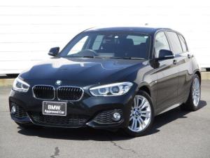 BMW 1シリーズ 118i Mスポーツ ワンオーナー 禁煙車 純正ナビ バックカメラ PDC クルーズコントロール ETC Bluetooth インテリジェントセーフティ LEDヘッドライト 純正17インチアロイホイール Musicサーバー