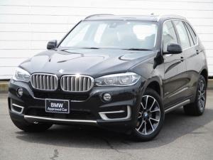 BMW X5 xDrive 35d xライン ワンオーナー 禁煙車 電動ガラスサンルーフ ブラウンレザーシート ベンチレーションシート アクティブクルーズコントロール 4ゾーンエアコンディショナー ソフトクローズドア 純正19インチAW セレクト