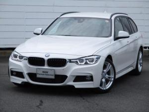 BMW 3シリーズ 320dツーリング Mスポーツ 純正ナビ バックカメラ ブラックレザーシート シートヒーター インテリジェントセーフティ 禁煙車 アクティブクルーズコントロール PDC Bluetooth パドルシフト 純正18インチAW