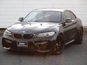 BMW M2 ベースグレード 純正ナビ ETC バックカメラ ブラックレザーシート シートヒーター Musicコレクション パドルシフト クルーズコントロール Mパフォーマンス19インチAW キセノンヘッドライト