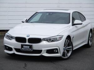BMW 4シリーズ 435iクーペ Mスポーツ 左ハンドル ブラックレザーシート シートヒーター パドルシフト Bluetooth クルーズコントロール 電動ガラスサンルーフ キセノンヘッドライト コンフォートアクセス 純正19インチアロイホイール