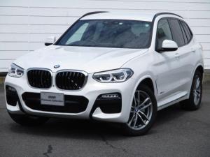 BMW X3 xDrive 20d Mスポーツ 純正ナビ ETC バックカメラ アクティブクルーズコントロール ワンオーナー 禁煙車 ブラックレザーシート F&Rシートヒーター オートリアゲート 純正19インチAW LEDヘッドライト