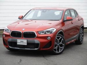 BMW X2 sDrive 18i MスポーツX ワンオーナー 禁煙車 純正HDDナビ ETC バックカメラ PDC シートヒーター アクティブクルーズコントロール ヘッドアップディスプレイ LEDヘッドライト オートリアゲート 純正19インチAW