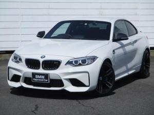BMW M2 ベースグレード ワンオーナー 禁煙車 純正ナビ ETC バックカメラ Harman/Kardon ブラックレザーシート シートヒーター クルーズコントロール インテリジェントセーフティ 純正19インチアロイホイール