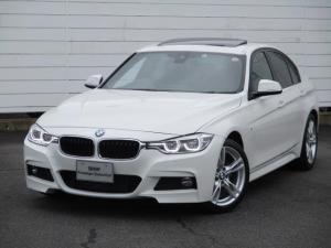 BMW 3シリーズ 320d Mスポーツ ワンオーナー 禁煙車 パドルシフト アクティブクルーズコントロール Bluetooth 純正ナビ ETC バックカメラ 電動ガラスサンルーフ LEDヘッドライト 純正18インチアロイホイール