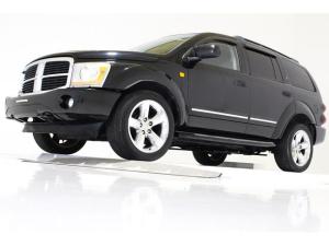 ダッジ・デュランゴ LTD 4WD 新車並行車 ナビ 20AW モニター ETC