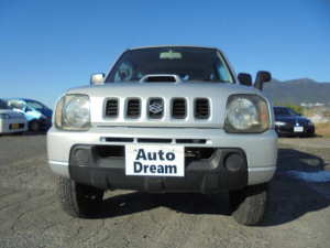 スズキ ジムニー XLターボ 4WD 16インチ 背面タイヤ 走行8.8万キロ