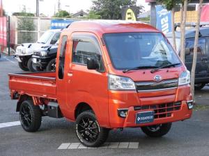 ダイハツ ハイゼットトラック ジャンボSAIIIt 4WD マニュアル デフロック 前後ドラレコ フルセグナビ 2インチUP
