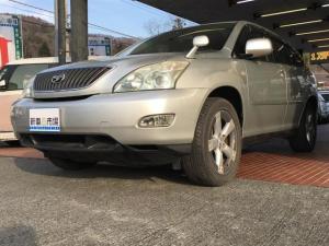 トヨタ ハリアー AIRS 革シート バックカメラ HID 4WD 禁煙車