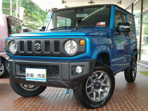 スズキ ジムニー XC 8インチナビプレゼント!! G'ZOXガラスコーティング済 インタークーラーターボ 高低二段切替式4WD