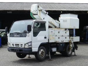 いすゞ エルフトラック 高所作業車 10m 5速