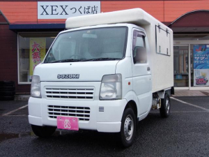 スズキ キャリイトラック KCパワステ 移動販売車加工登録8ナンバー