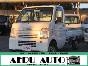 スズキ キャリイトラック KCエアコン・パワステ 5速マニュアル 4WD
