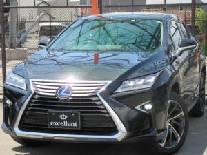 レクサス RX RX450h バージョンL 4WD 黒革 サンルーフ OP20inAW  寒冷地仕様 ワンオーナー パワーバックゲート Bluetooth