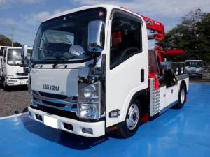 いすゞ エルフトラック  3段クレーン 4WD レッカー車 ラジコン