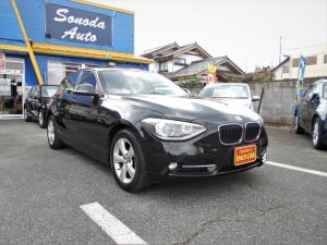 BMW 1シリーズ 116iスポーツ・禁煙ワンオーナー・純正ナビ・HID・ETC