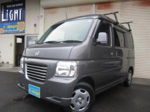 ホンダ バモスホビオ G ワンオーナー車 ETC キーレス 4WD