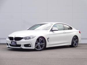 BMW 4シリーズ 420iクーペ Mスポーツ ワンオーナー ダウンサス ファストトラックパッケージ 純正19インチアルミホイール HDDナビ Bカメラ Mブレーキ 前後スポイラー ACC パドルシフト ブラックキドニーグリル CD