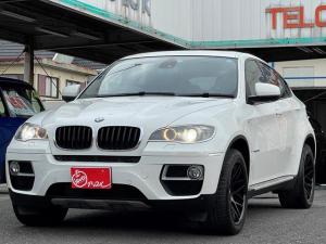 BMW X6 xDrive 35i 純正ナビ フルセグTV Bカメラ ETC 黒革Pシート シートヒーター シートエアコン Bluetooth Pバックドア サンルーフ 社外20インチAW 純正マット&バイザー スマートキー2ケ