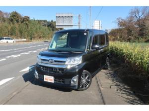 ダイハツ タント カスタムRS SA SDナビ 地デジ Bluetooth スマートキー 衝突被害軽減ブレーキ 両側電動スライドドア LEDヘッドライト オートライト ETC 純正15インチアルミホイール