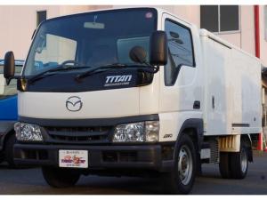マツダ タイタンダッシュ 冷蔵冷凍車 サーモキング製 4WD 積載1.25t