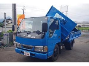 いすゞ エルフトラック 4.8高床ディーゼル 三転ダンプ 積載2t NOX・PM適合