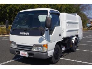 日産 アトラストラック  4.3ディーゼル モリタエコノス製回転式パッカー車(塵芥車) 5MT 積載2t