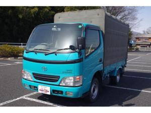 トヨタ ダイナトラック フルジャストロー 4WD 幌付き 3.0ディーゼル 4WD 5MT 幌車 積載1.2t