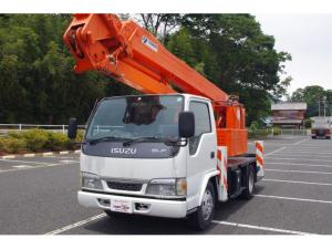 いすゞ エルフトラック フラットロー 4.8ディーゼル タダノ製屈伸式高所作業車 AT-157CG 15.7m