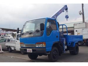 いすゞ エルフトラック  4WD 4.6ディーゼル タダノ2.33t3段クレーン(ラジコン付き) 5MT 積載2t