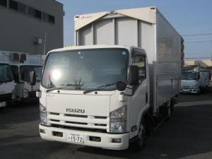 いすゞ エルフトラック 2.7tワイドロングアルミウイング格納ゲート付