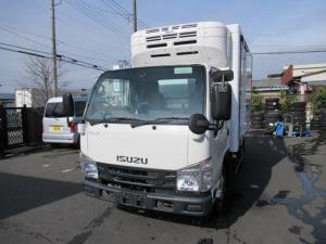 いすゞ エルフトラック 4WD低温冷凍車 移動間仕切 スタンバイ装置