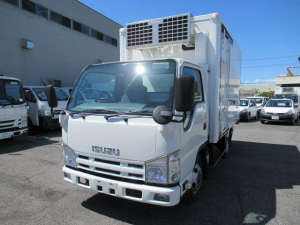 いすゞ エルフトラック 低温冷凍車 2室2エバ スタンバイ装置付