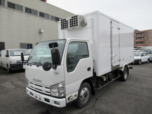 いすゞ エルフトラック  低温冷凍車 両サイドドア ※ボデー載せ替え車