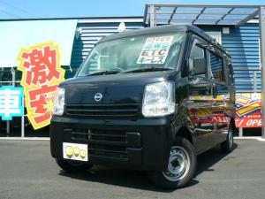 日産 NV100クリッパーバン DX GLパッケージ 4WD フル装備 ETC キーレス エアバッグ ABS タイミングチェーン