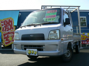 スバル サンバートラック TC 4WD エアコン パワステ エアバッグ