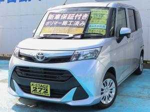 トヨタ タンク X S 衝突軽減ブレーキ コーナーセンサー ナビ 新車保証付