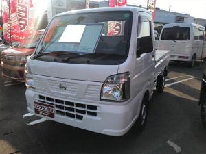 日産 NT100クリッパートラック DX AC MT 修復歴無 軽トラック ETC 白