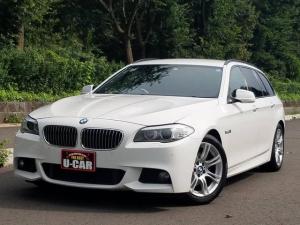 BMW 5シリーズ 528iツーリング Mスポーツパッケージ 黒革シート ETC